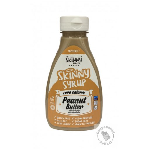 Skinny Peanut Butter Mogyoróvajas szirup, cukormentes 425ml