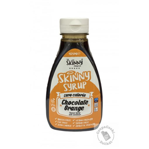 Skinny Chocolate Orange Narancsos csoki szirup, cukormentes 425ml