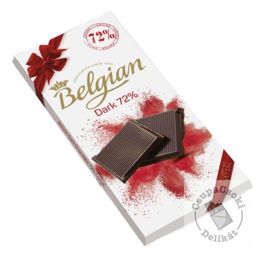 Belgian Dark 72% Étcsokoládé 100g