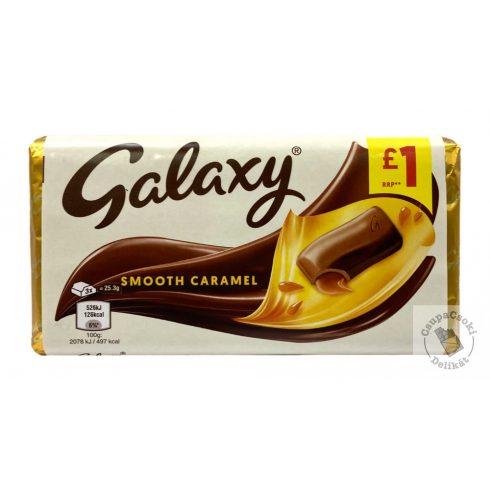 Galaxy Smooth Caramel tejcsokoládé karamellel 135g