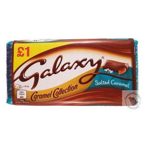 Galaxy Salted Caramel tejcsokoládé sós karamellával 135g
