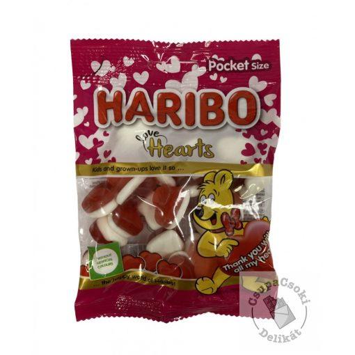 Haribo Love Hearts Gumicukor 100g