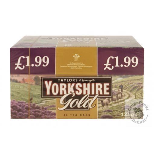 Yorkshire Gold Fekete tea 40 filter 125g