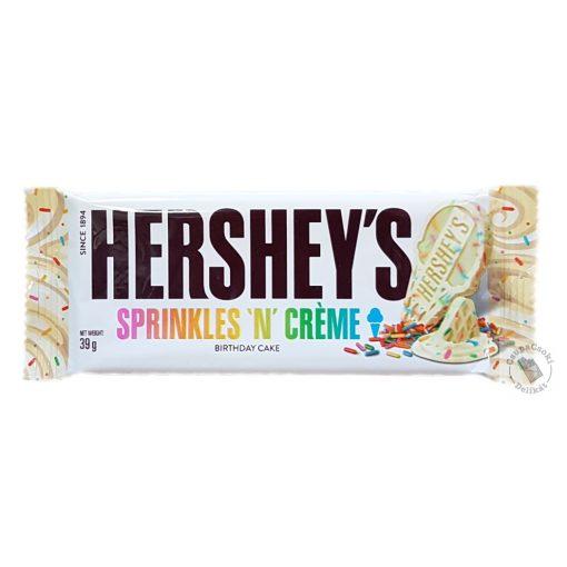 Hershey's Sprinkles 'n' Creme Színes cukorkás fehércsokoládé 39g