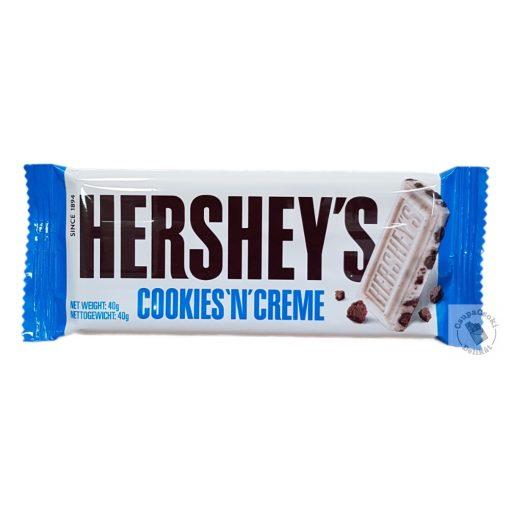 Hershey's Cookies 'n' Creme Kekszes fehércsokoládé 40g