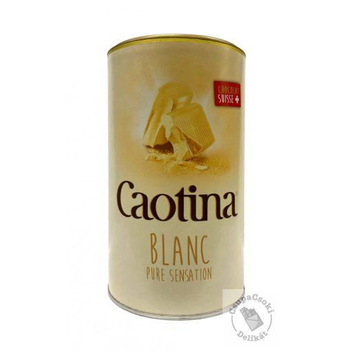 Caotina Blanc Fehércsokoládés, forrócsokoládé italpor 500g