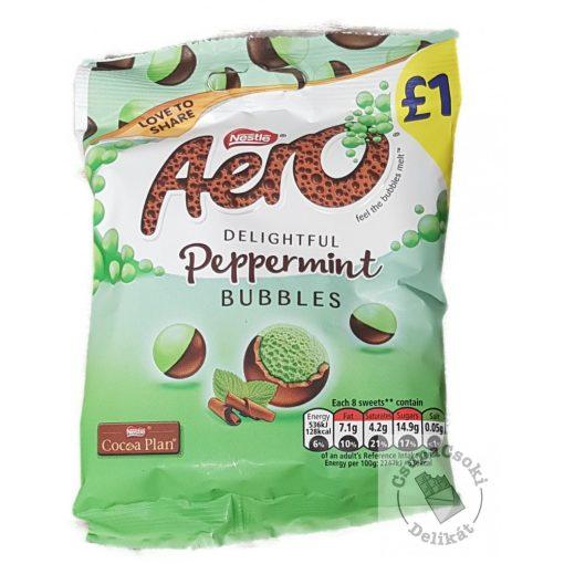 Nestlé Aero Peppermint Buborékos mentás csokoládégolyók 80g