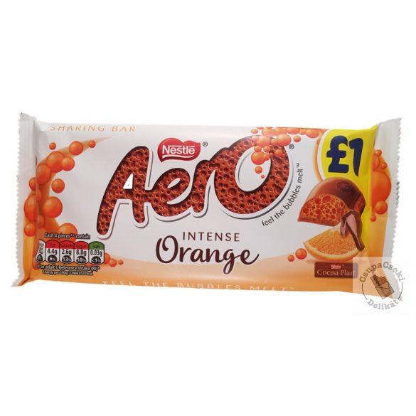 Nestlé Aero Orange Buborékos narancsos tejcsokoládé 100g