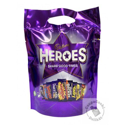Cadbury Heroes Csokoládéválogatás 357g