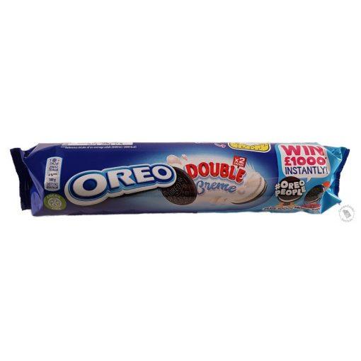 Oreo Double Creme Dupla vaníliás krémmel töltött kakaós keksz 157g