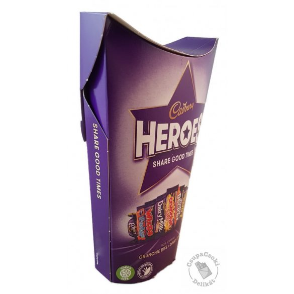 Cadbury Heroes Csokoládéválogatás 185g