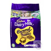 Cadbury Caramel Nibles Tejcsokoládé lágy karamell töltelékkel 120g