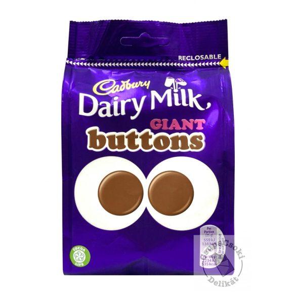 Cadbury Giant Buttons Tejcsokoládé korongok 119g