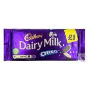 Cadbury Oreo Tejcsokoládé Oreo kekszes töltelékkel 120g