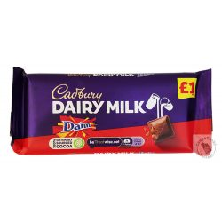 Cadbury Daim Tejcsokoládé ropogós karamelldarabokkal 120g