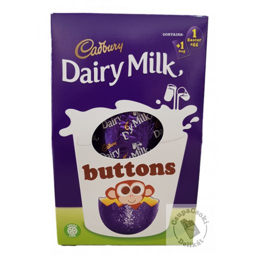 Cadbury Buttons Tejcsoki tojás ajándékdoboz 128g