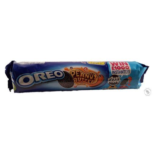 Oreo Peanut Butter Mogyoróvajas krémmel töltött kakaós keksz 154g