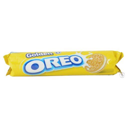 Oreo Golden Vaníliás krémmel töltött vaníliás keksz 154g