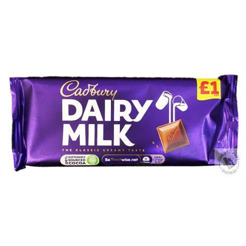 Cadbury Tejcsokoládé 95g