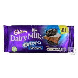 Cadbury Oreo Sandwich Tejcsokoládé oreo keksszel 96g