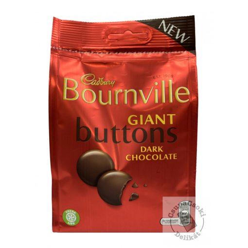 Cadbury Bournville Giant Buttons Étcsokoládé korongok 110g