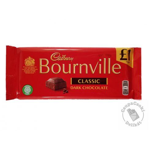 Cadbury Bournville Étcsokoládé 100g