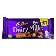 Cadbury Chopped Nut Tejcsokoládé tört mogyoróval 95g