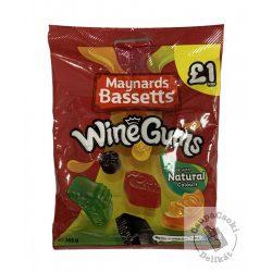 Maynards Bassetts WineGums Gyümölcsös gumicukor 165g