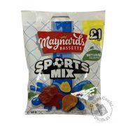 Maynards Bassetts Sports Mix Gyümölcs ízű gumicukor 165g