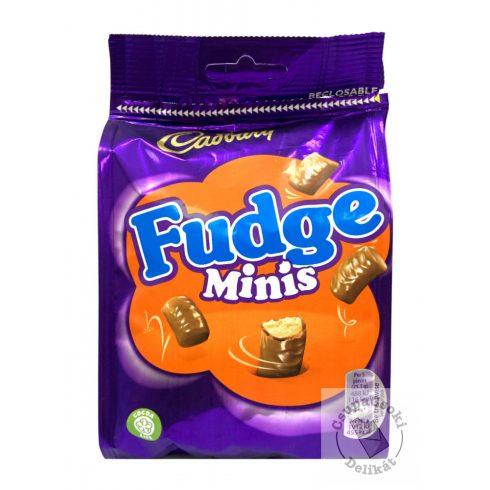 Cadbury Fudge Minis Vajkaramella tejcsokoládéval bevonva 120g