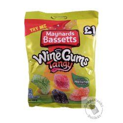 Maynards Bassetts WineGums Tangy Gyümölcs izű savanyú gumicukor 165g