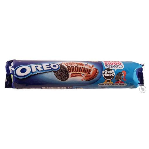 Oreo Choc'o Brownie Csokis krémmel töltött kakaós keksz 154g