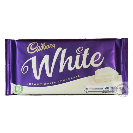 Cadbury White Fehércsokoládé 180g