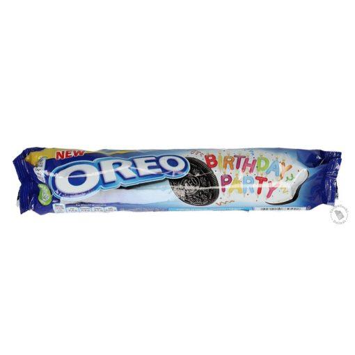 Oreo Birthday Party Karamellás krémmel töltött kakaós keksz 154g