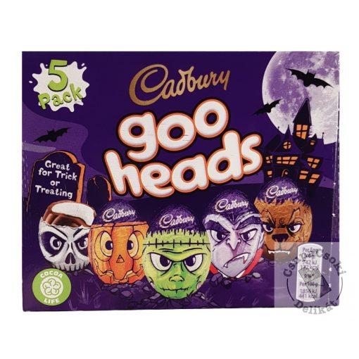 Cadbury Goo Head Creme Egg Töltött csokitojás 5x40g