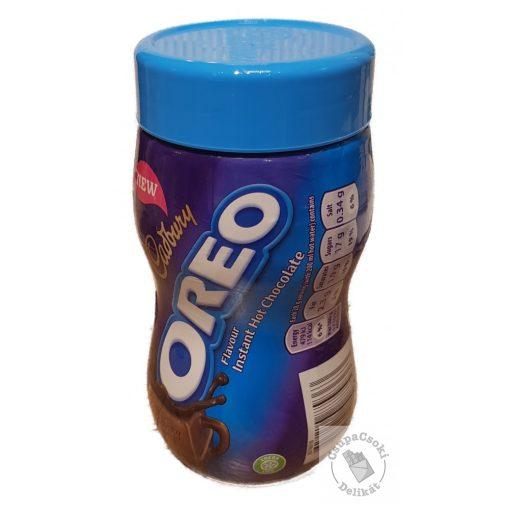 Cadbury Instant Hot Chocolate Forró csokoládé Oreo kekszes ízesítéssel 260g