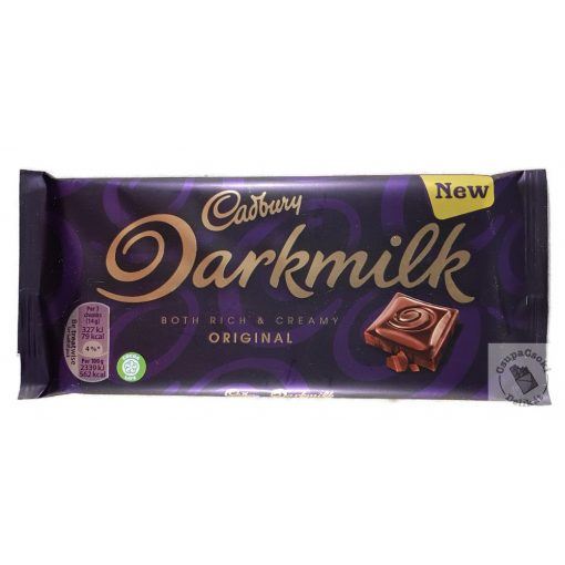 Cadbury Darkmilk Tejcsokoládé 85g