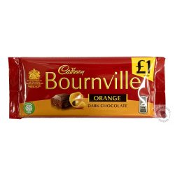 Cadbury Bournville Étcsokoládé naranccsal 100g