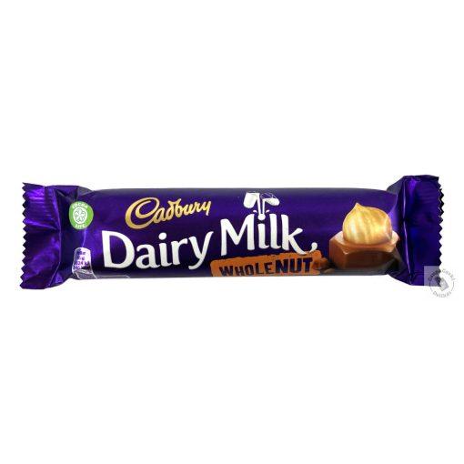 Cadbury Egész mogyorós tejcsokoládé 45g