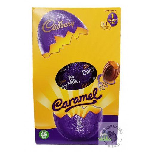 Cadbury Caramel Karamellás tejcsoki tojás ajándékdoboz 139g