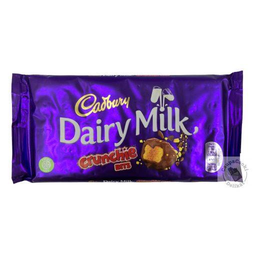 Cadbury Crunchie Bits Tejcsokoládé törökméz darabokkal 200g