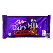 Cadbury Fruit&Nut Mazsolás - mandulás tejcsokoládé 200g