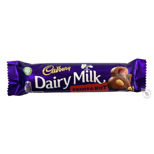 Cadbury Fruit&Nut Mazsolás-mandulás tejcsokoládé 49g