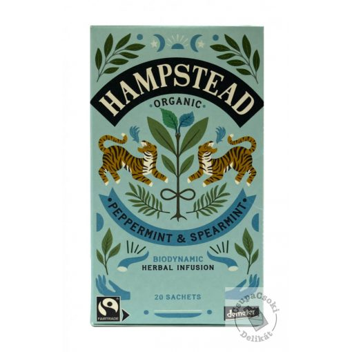 Hampstead Peppermint&Spearmint Menta tea 20filter, 40g