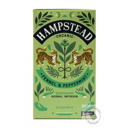 Hampstead Fennel&Peppermint Borsmenta tea 20filter, 40g