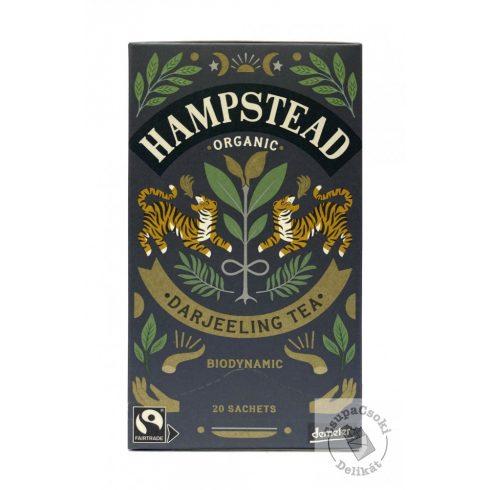 Hampstead Tea London Darjeeling Fekete bio tea 20 filter, 40g