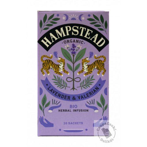 Hampstead Tea Lavender&Valerian Levendula tea 20 filter, 20g