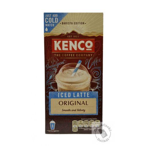 Kenco Iced Latte Original Instant jeges kávé por (8x21,5g) 172g
