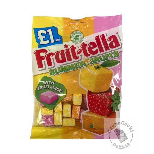 Fruit-tella Summer Fruits Gyümölcsös karamella 135g