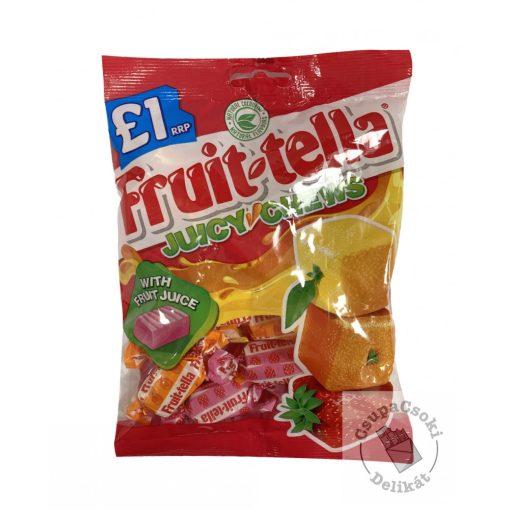 Fruit-tella Juicy Chews Gyümölcsös karamella 135g